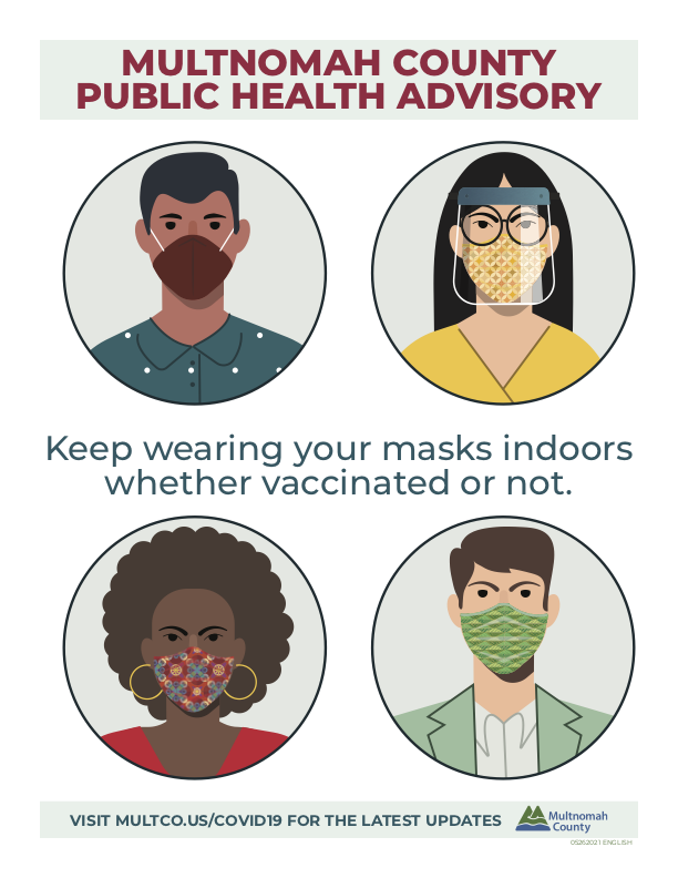 Keep Wearing Your Mask